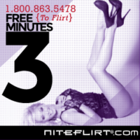 Call Me On NiteFlirt and Get 3 Free Minutes